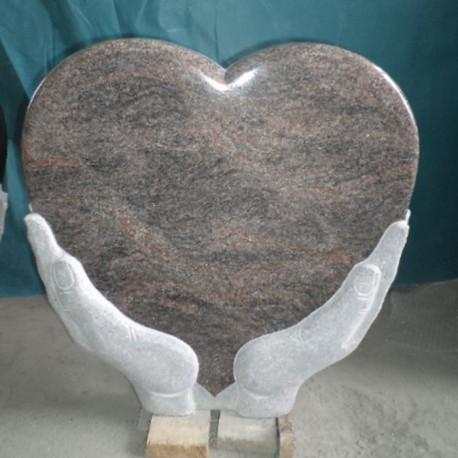 Hjerteformet Gravstein PG SW 150 S HB