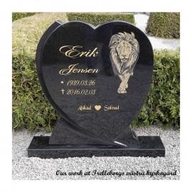 gravsteiner hjerte PG 22